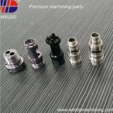 Piezas de torneado del torno del CNC de la precisión del acero inoxidable de la fábrica que trabaja a máquina de China