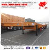 4개의 차축 80 톤 수용량을%s 가진 낮은 침대 트레일러 가격