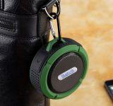Bewegliche IP65 imprägniern Bluetooth Lautsprecher-Stereoresonanzkörper mit Saugventil-Haken-im Freienlautsprecher für Mobile