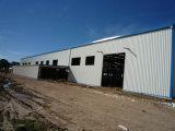 構造スチールの倉庫か前に設計された建物