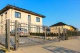 Puerta residencial única hermosa del hierro labrado (dhgate-31)