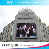 Schermo di visualizzazione impermeabile del LED di uso commerciale di pubblicità esterna di prezzi di fabbrica P10 SMD per il luogo pubblico