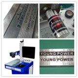Машина маркировки лазера волокна металла для Я-Пусковой площадки имени логоса металла и неметалла, iPhone/Apple