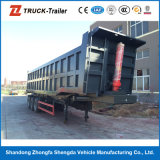 사용된 덤프 반 트레일러 또는 후방 덤프 반 트레일러 팁 주는 사람 트럭 트레일러