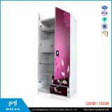 الصين جعل صناعة 2 باب معدن غرفة نوم أثاث لازم فولاذ خزانة ثوب