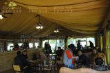 棒およびレストランのための高級リゾートのテント