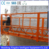 Plataforma suspensa galvanizada / Zlp630 High Building Cleaning Equipment / Suspended Scaffold