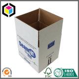 Casa que move a caixa de armazenamento de empacotamento corrugada do agregado familiar da caixa