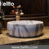 Badezimmermarmorsteinbehälterwanne gebildet von keramischem (C-1061)