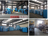 Compresseur d'air rotatoire de vis d'huile de graissage de l'usine ISO9001