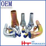 A fábrica fornece o cone fêmea métrico encaixe de tubulação hidráulico da mangueira de 60 graus para a venda