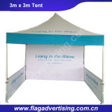 Доказательство воды хлопает вверх шатер случая для рекламировать или индикации