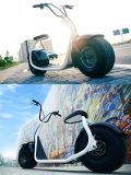 Мотоцикл Citycoco скорости колеса Seve 2 электрический с СИД 800W