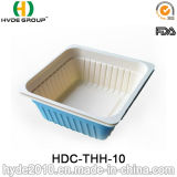 "6.5"" Square Disposable Food Container with Lid"