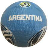 Le football coloré en caoutchouc de surface de caillou