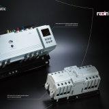 Auto interruptor automático de transferência do interruptor de comutação