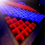 Decorazione 3D LED Dance Floor di cerimonia nuziale