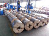 Obenliegender heißer eingetauchter galvanisierter Stahl verstärkter ACSR Draht