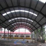 Entrepôt en acier préfabriqué de villa en acier légère de mesure