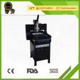 Ranurador del CNC de la máquina del metal del eje de rotación de la refrigeración por agua del motor de pasos 800W de Jinan mini