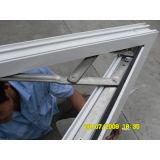 Ventana del marco del perfil del polvo blanco del color de la alta calidad Kz088 y obturador de aluminio revestidos del marco