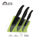 Gift corporativo Ceramic Kitchen Knife Set com Block