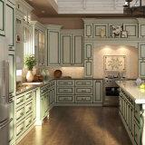 Latina Style Green Line PVC gabinete de cocina (OP15-PVC01