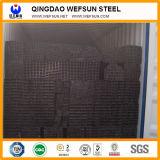 Tubo de acero en frío S235jr de la estructura del cuadrado del carbón Ss400