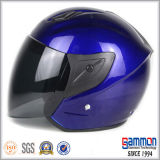Signora Red Open Face Motorcycle/casco della motocicletta (OP226)