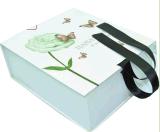 Empacotamento requintado da caixa de presente do cartão do Natal