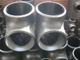T saldato estremità calda del acciaio al carbonio di Galvainzed (uguale/riduttore)