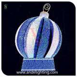 Sehr großes Ball Decoration Light Christmas 3D Motif Light