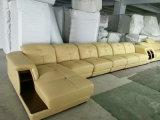 Nuovo arrivo, mobilia del salone di Ciff, sofà di cuoio moderno (A64#)