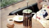 Pot van de Pers van de Koffie van het Glas van de Hittebestendigheid de Franse voor Groothandelaar
