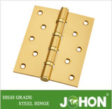 Acero o puerta de hierro Hardware Metal Bearing Hinge (5'X4 ')