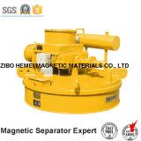 Separador eletromagnético de refrigeração de óleo para usina, porta