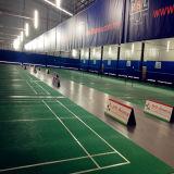 Plancher de sport de badminton de la certification PVC/Vinyl de Bwf