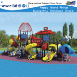 Equipamento ao ar livre HD-071A do jogo dos miúdos pequenos dos campo de jogos