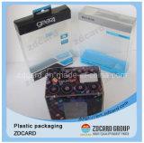 Caixa de empacotamento da câmara de ar transparente plástica bonita do papel da forma redonda do indicador