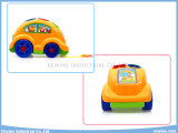 Giocattoli educativi dell'automobile del fumetto dei giocattoli dei blocchi con cavo
