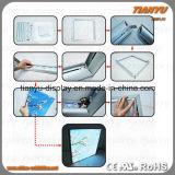 Tessuto/tessile di alluminio di Frameless che fa pubblicità alla casella chiara