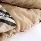아이들을%s 상한 격자 무늬 면 의복 외투 & 재킷에 있는 3 색깔