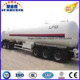 remorque de camion-citerne de gaz de 58.5cbm LPG/LNG/Butane/Propane/Cooking/gaz naturel