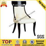 椅子(CY-3503)を食事する革純木