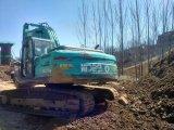 Máquina escavadora usada muito boa Kobelco Sk210-8 da esteira rolante da condição de trabalho (feito em 2010) para a venda