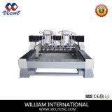 4 Spindel Marmor-CNC-Maschine für Steinstich (Vct-1525SDR-2z-4h)