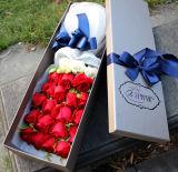 rectángulo de regalo de encargo de la flor de la alta calidad de la fabricación profesional