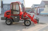 Loader pequeno Mini Farming Machine Mini Wheel Loader para Sale