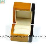 Коробка оптовых двойных ювелирных изделий цвета лака деревянная