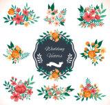 Etiqueta da etiqueta do PVC do tatuagem da impressão da venda por atacado da etiqueta da etiqueta do prego